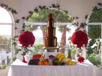 Buffalo chocolate fountain